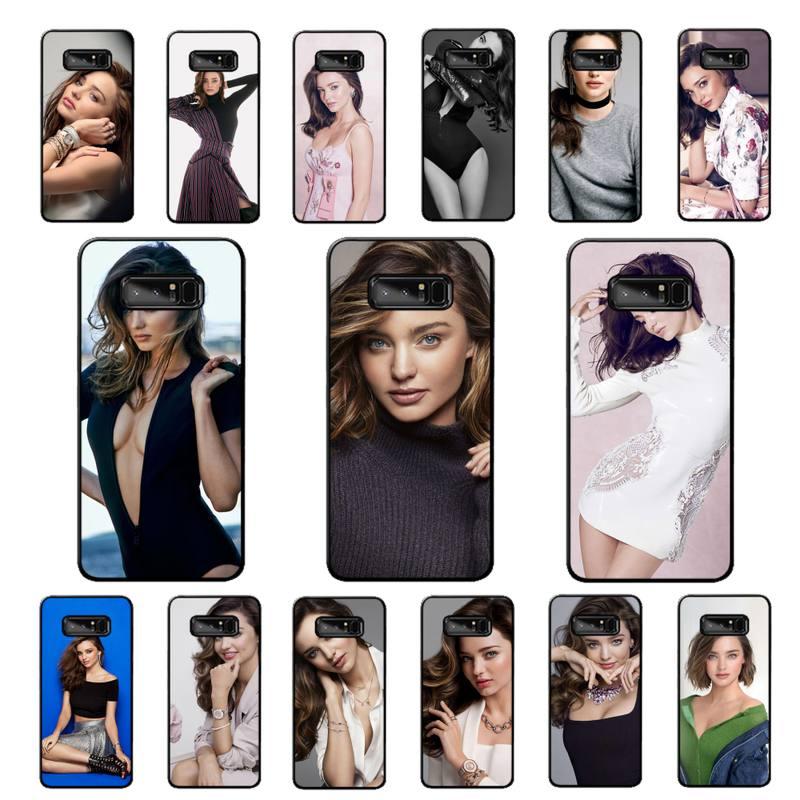LVTLV supermodelo miranda kerr caso de teléfono para Samsung nota 3 4 5 6 7 8 9 10 pro plus lite 20 ultra