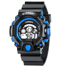 Waterproof Children Boy Multifunction Boys Girls Digital LED Sports Waterproof Wrist Watch Kids Alar
