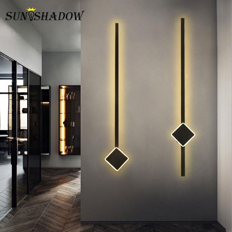 120 90 60cm Modern Led Wall Light Bathroom Mirror Front Light Sconce Wall Lamp for Bedside Light Living room Wall Led Light Home