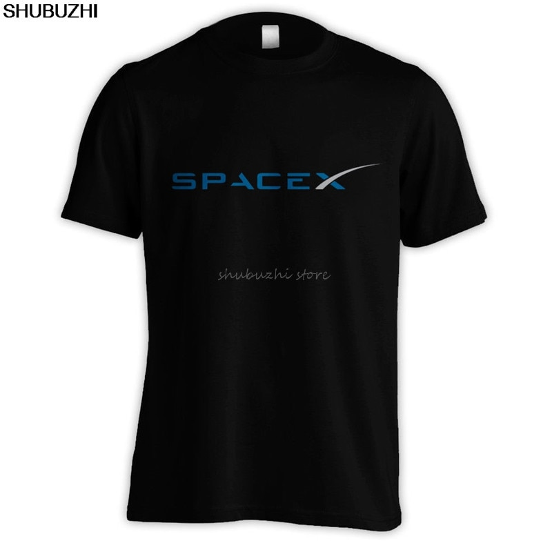 SPACEX SPACE X SPACE-X ELON MUSK FAN SPACE SCIENCE LOGO T-SHIRT FALCON [S > 5XL] New T Shirts Funny Tops sbz4464
