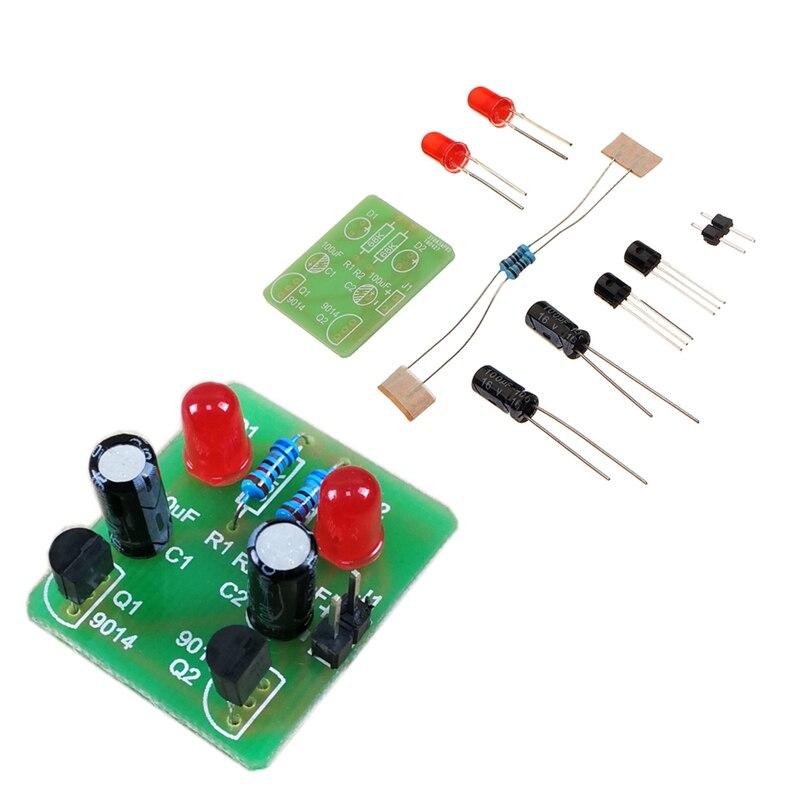 Diy multi módulo de oscilador harmônico scintillator kit treinamento bistable produção eletrônica diy acessório