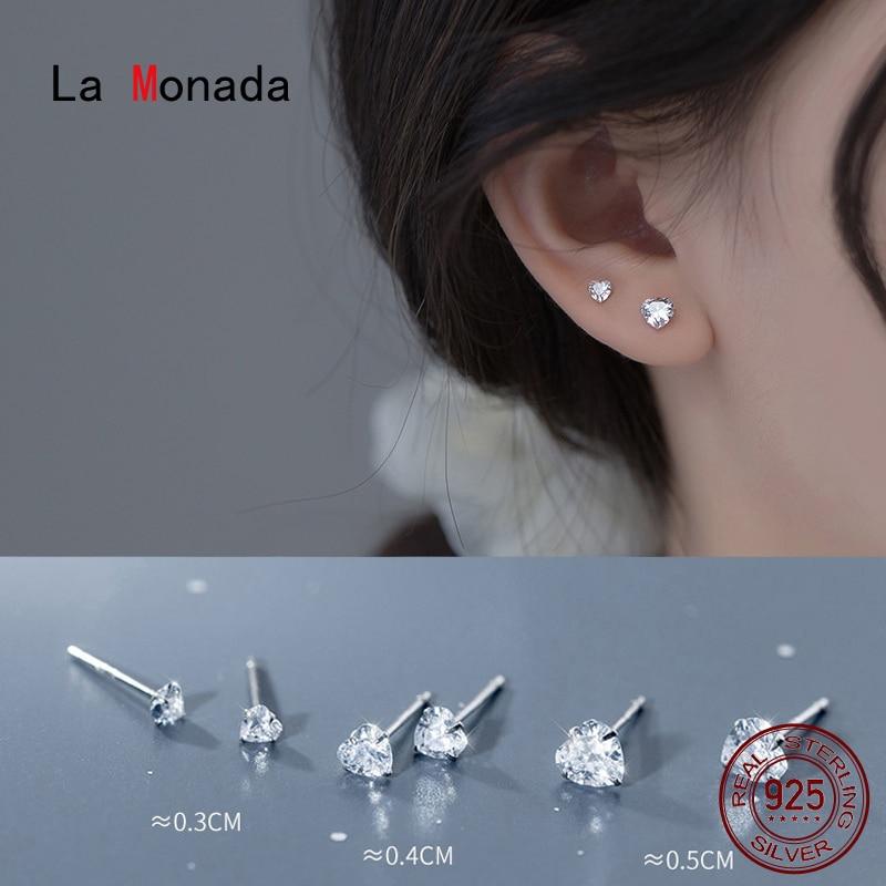 Женские-серебряные-серьги-la-monada-минималистичные-маленькие-серьги-гвоздики-из-925-пробы-серебра-925-пробы-в-форме-сердца