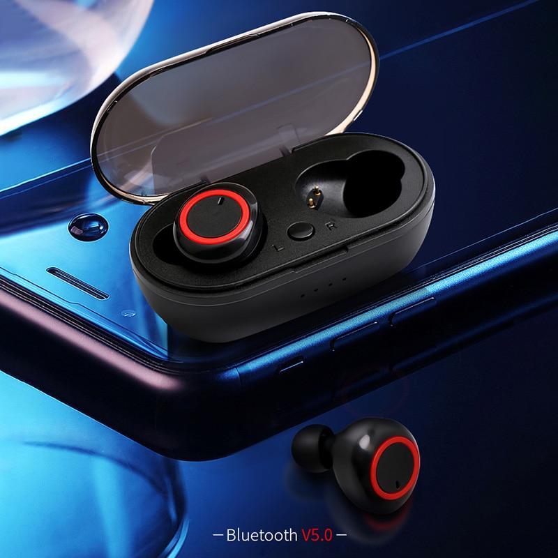 Bluetooth 5,0 Kopfhörer TWS Wireless Kopfhörer Headset Ohrhörer Sport Kopfhörer Computer Couteur Hände Frei Bluetooth Telefon Ohr
