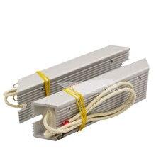 Résistance de coque en aluminium RXLG, résistance trapézoïdale, pour frein, onduleur, électricité dascenseur, 50w 60w 80w 100w 150w 200w