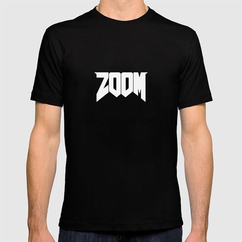 ZOOM Logo blanco camiseta skyrim oblivion morrowind sheogorat
