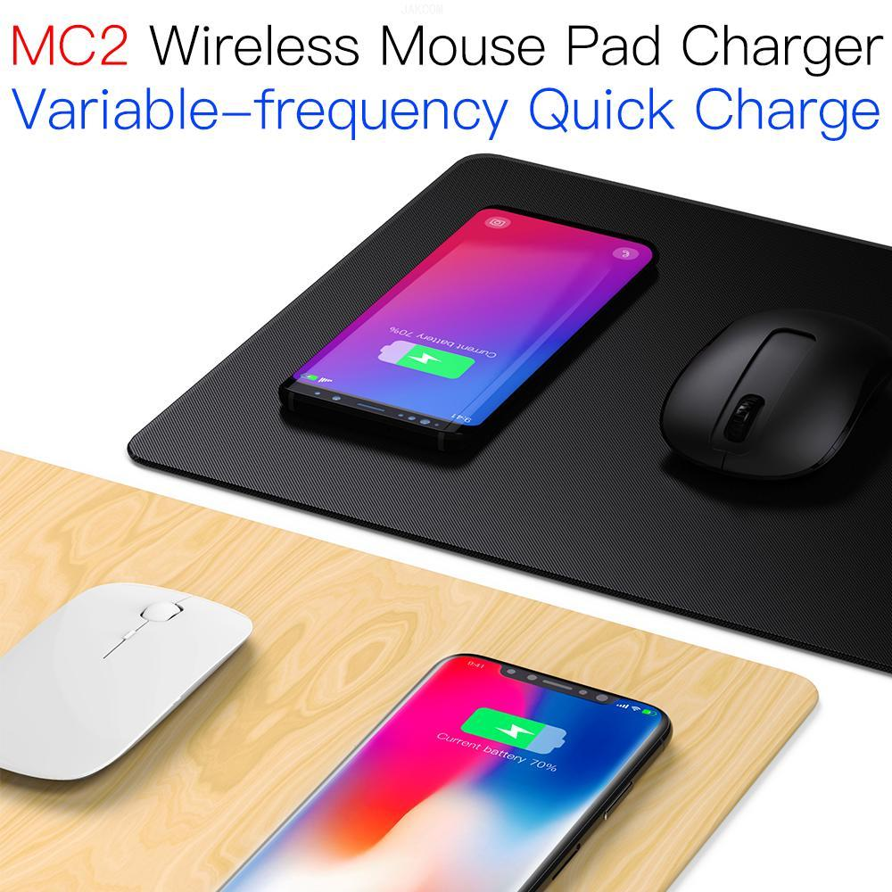 JAKCOM MC2 alfombrilla para ratón inalámbrico cargador mejor que Pad 3 p30 pro g6 4 9 lampara mesa de noche reloj digital masculino gadts nota