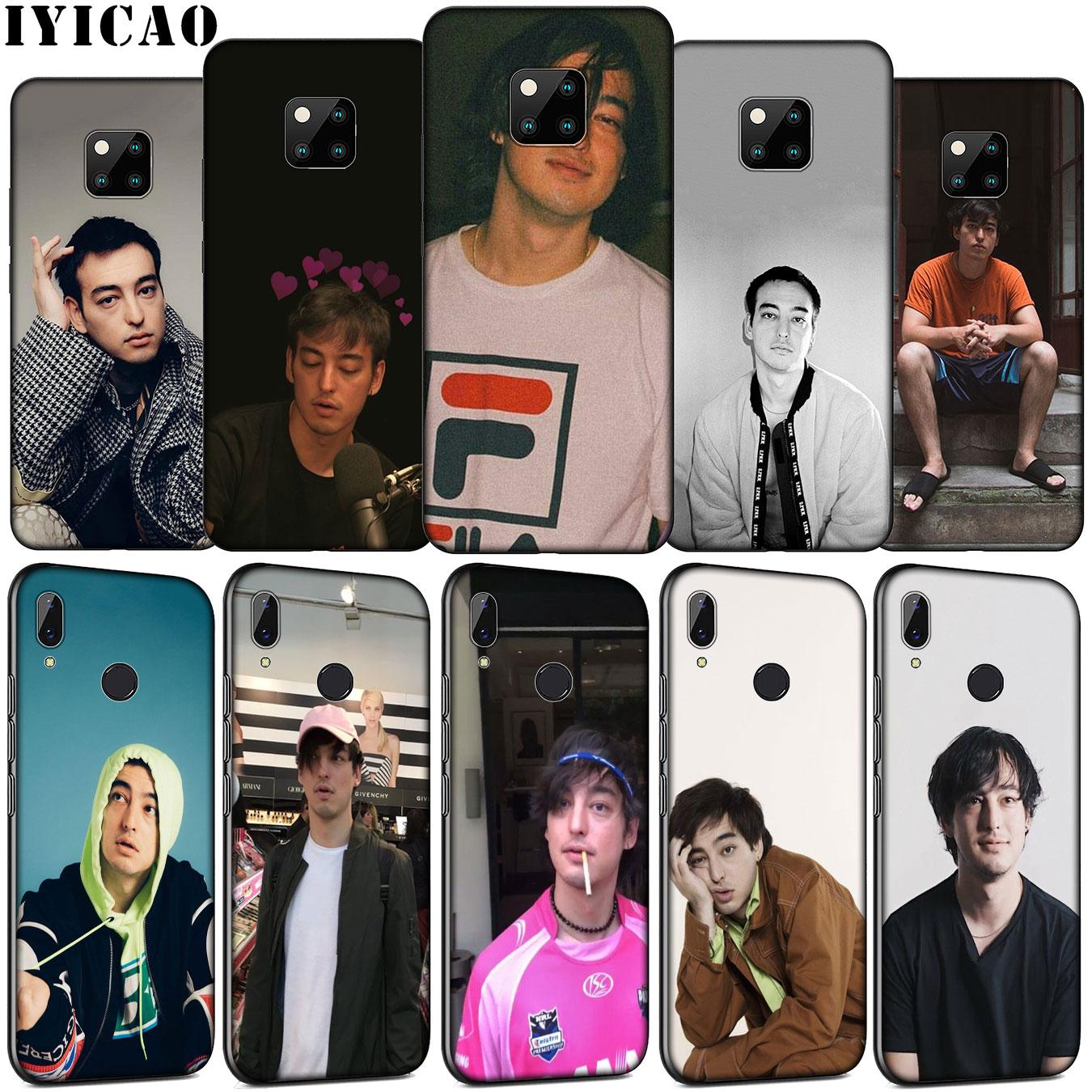 Joji IYICAO Miller Caso de Telefone Silicone Macio para Huawei Companheiro 30 20 10 Pro Nova 5i 4 3 3i 2i 2 Lite TPU Capa Preta