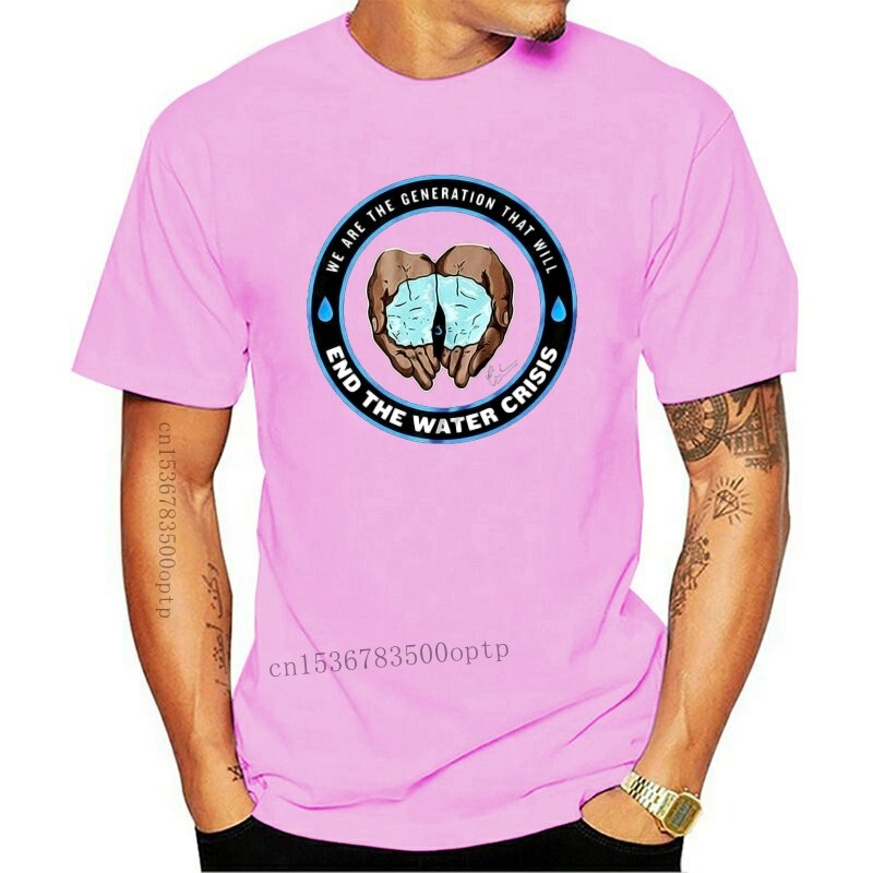 New 2021 24230 Cameron Boyce We Will End The Water Crisis Logo T-Shirt Size S-5XL TEE Shirt Free Shipping