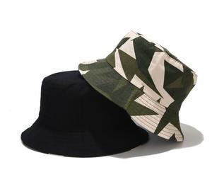 New Two Side Reversible Camouflage Bucket Hat Bob Cap Hip Hop Gorros Men women windproof Caps Beach Sun Fishing Panama Hat