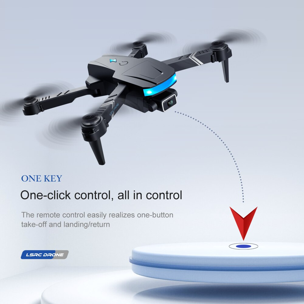 4K Professional Wide Angle Mini Drone RC Quadcopter Altitude hold Dual Camera HD WiFI FPV Foldable Dron Toys For Kids Gift enlarge