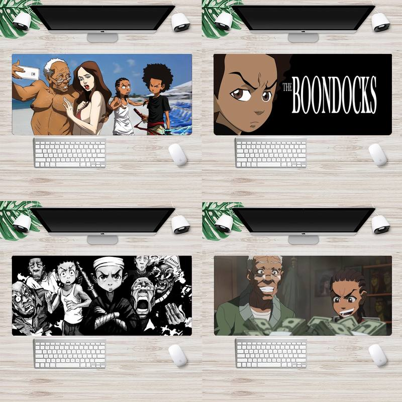 The Boondocks Large Mouse pad PC Computer mat Animation XL Large Gamer Keyboard PC Desk Mat Takuo Tablet Mousepads