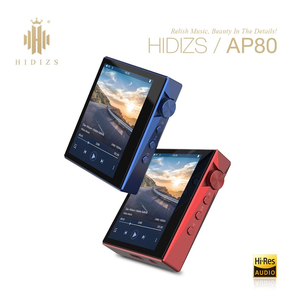 Hidizs AP80 HIFI MP3 Player Portable Touch Screen Sports Bluetooth Music MP3 Player FLAC LDAC USB DAC DSD 64/128 FM Radio DAP