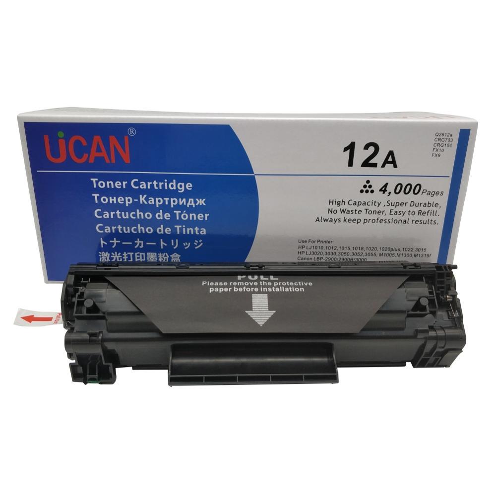 Toner Cartridge 12a  2612a Q2612a for HP Laserjet 1010 1012 1015 1018 1020 1022 3015 3020 3030 3050 3052 3050 M1005 M1319f mfp