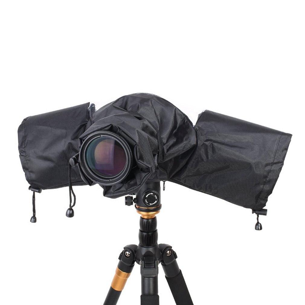 Bolsas para cámara, cubierta para lluvia, funda protectora, impermeable contra la lluvia contra el polvo para Canon, Nikon, Pentax, DSLR, SLR, cámara, bolsa suave