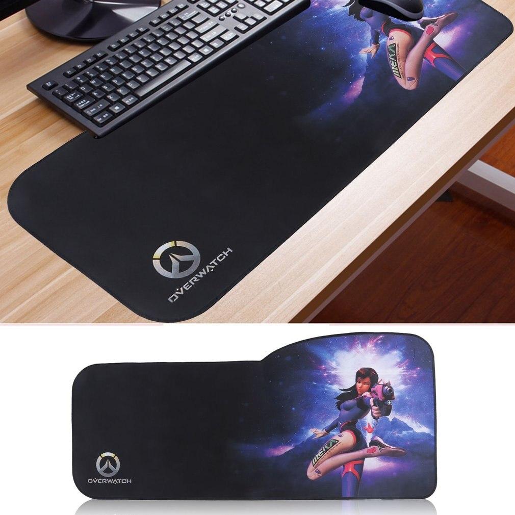 Ultra-Smooth Surface Anti-Slipping Gaming Game Mouse Pad Desktop PC Computer Laptop Game Mouse Mat Keyboard Mat