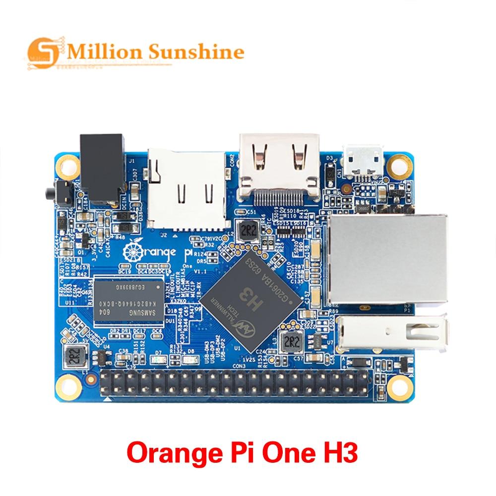 Orange Pi One H3 512 Мб четырехъядерный поддержка ubuntu linux и android mini PC OR1