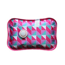 Rechargeable Electric Hot Water Bottle Hand Warmer Heater Bag for Winter BOM666