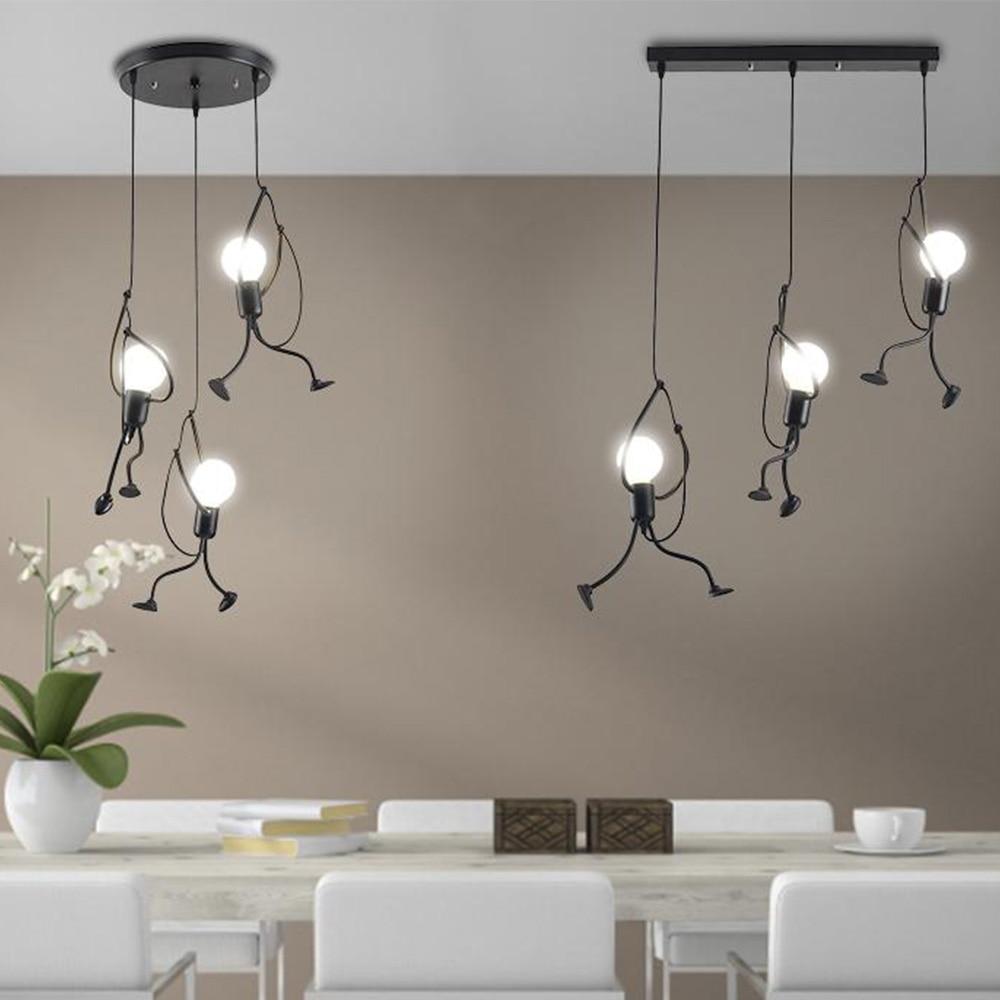 CETANT-مصباح سقف بتصميم رجعي مع غطاء قاعدة E27 ، مثالي لغرفة المعيشة أو المطبخ أو غرفة الطعام أو غرفة النوم.