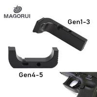 magorui extended magazine release for glock gen 1 5 black
