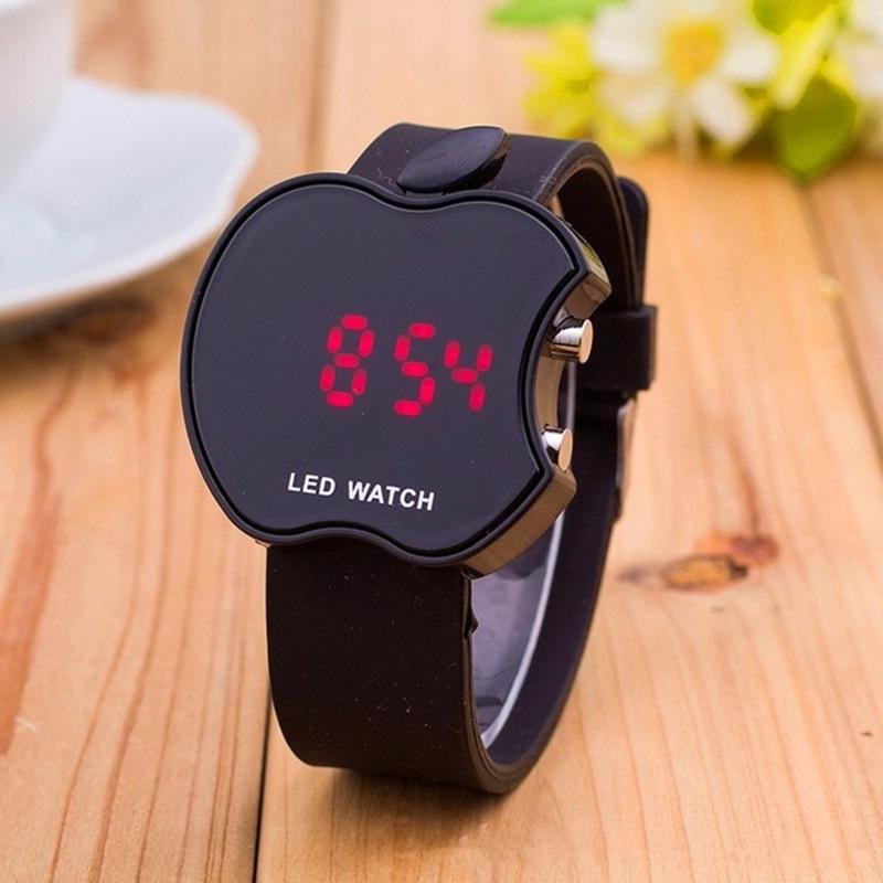 Relogio New Quality Silicone Apple Kids Watch Reloj Fashion Multi-Function LED Sports Watch Dress Wa