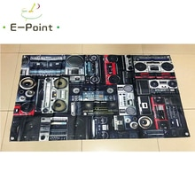 Vehicle Audio Flag 2ft*3ft (60*90cm) 3ft*5ft (90*150cm) Size Christmas Decorations for Home Flag Ban