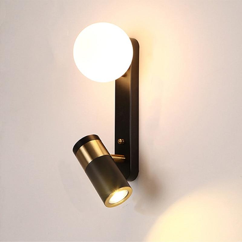 Artpad Wall Lamp Modern Hotel Living Room Aisle Bedside Bedroom Reading Rotating Wall Sconces Interior Lighting G9