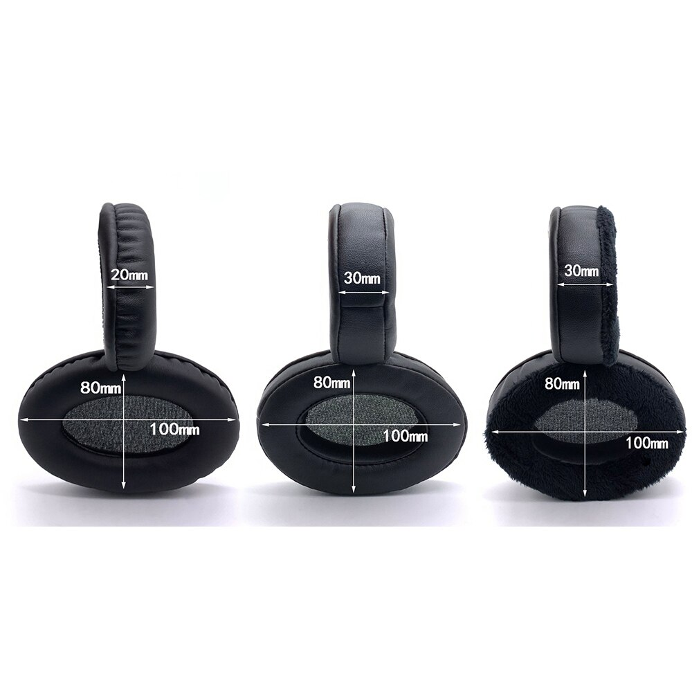 Earpads Velvet for Sennheiser RS100 RS110 RS115 RS117 RS119 RS120 HDR120 Headset Earmuff Cover Cups Sleeve pillow Repair Parts enlarge