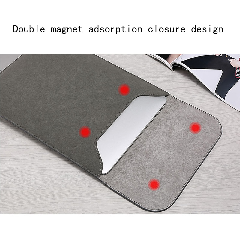 Sleeve Bag Laptop Case For Macbook Air Pro Retina 11 12 16 13.3 15 XiaoMi Mi Notebook Cover For Mac book Touch ID Air 13 A1932 enlarge