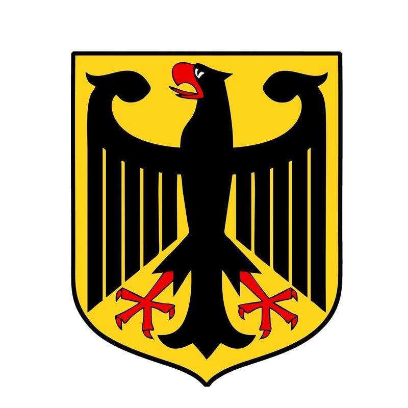 Герб Германии, автомобильные наклейки, креативные наклейки, автомобильные аксессуары, персонализированные ПВХ-украшения, водонепроницаем...