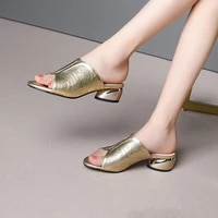 women bright pu leather outdoor slippers 2020 plus size 34 42 women shoes slippers summer sexy sandals casual flip flops shoes