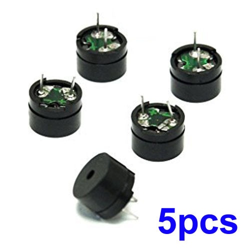 For Buzzer 16 Ohm Equipment Passive Component AC/2KHz Semiconductors Electrical MINI Piezo Piezo Buzzer