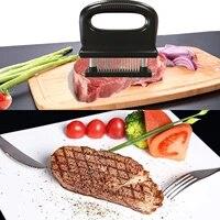 stainless steel meat tenderizer cooking meat tenderizer needle meat hammer kitchen tool steak artifact 48 needle meat tenderizer