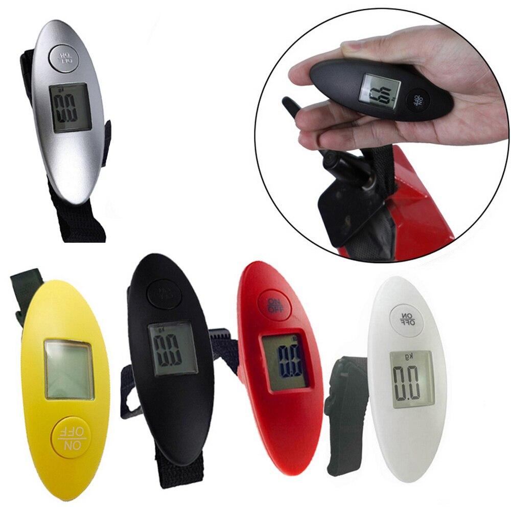 LCD Digital Elektronische Gepäck Waage Tragbare Koffer Skala Behandelt Reisetasche Gewichtung Fisch Haken Hängen Skala 40 kg/100 g 1pc
