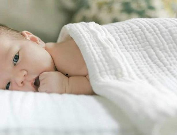 Mantas de bebé de algodón recién nacido bebé manta bebé recién nacido Swaddle Wrap Muselina Bebe Algodon Wrapple de bambú, Muselina manta cochecito