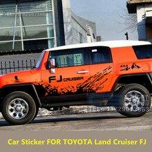 Car Sticker FOR TOYOTA Land Cruiser FJ Door Body Exterior Decoration Refit Sticker Cruiser FJ Sports Off-Road Sticker
