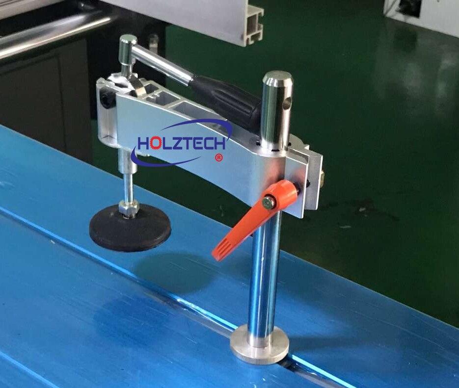 Abrazaderas de palanca horizontal ajustables abrazadera Manual de presión excéntrica precisión Mesa Deslizante Sierra de panel