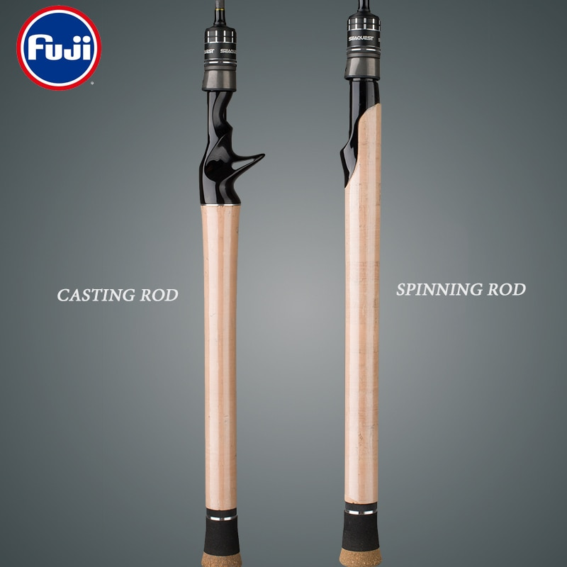 Japan Tackle 1.8M 1.98M Fishing Rod Two Tones of ML L Ultra Light Boat Lure Pole Fuji Guide Ring Cork Wood Handle Jigging Rods enlarge
