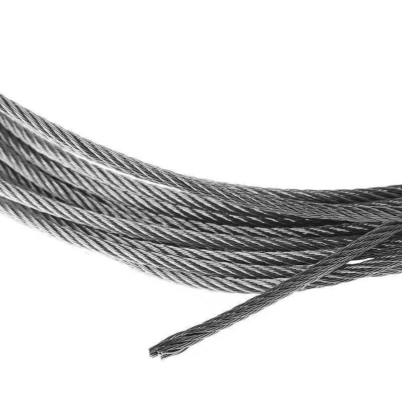 Новинка 5 м 304 нержавеющая сталь проволока веревка мягкая рыбалка подъем трос 7% C3% 977 веревка для белья