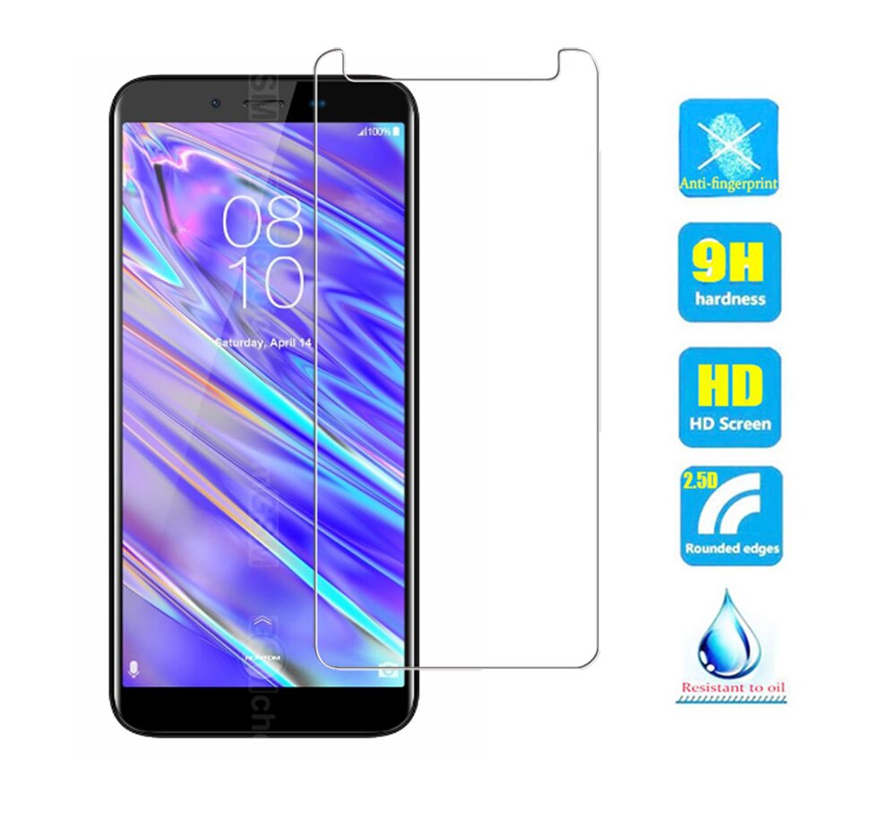 Para Homtom S99 vidrio templado 9H 2.5D película protectora de pantalla Premium para Homtom s 99 películas protectoras de teléfono móvil