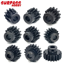 3pcs/lot Surpass Hobby M1 13T-49T Alloy Pinion Chromium Gear Compatible With 8.0mm Shaft Motor For 1