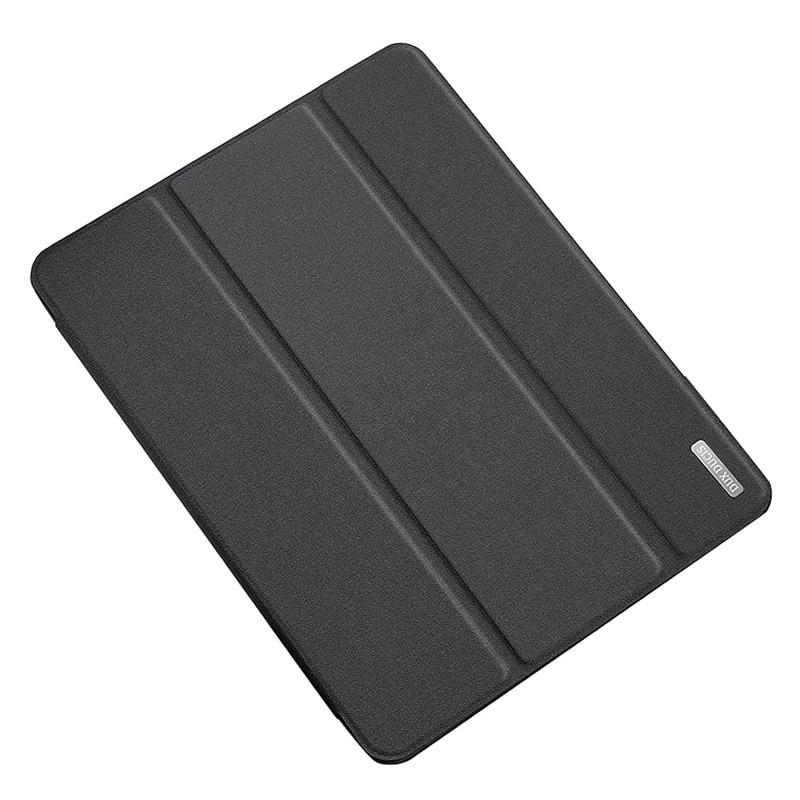 Para 2020 Ipad Pro 12,9 pulgadas funda de soporte PU + TPU funda protectora con pluma de prensa Anti-Pérdida ranura para tarjeta diseño funda protectora