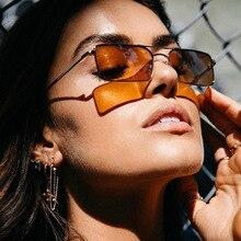 BOYSEEN trend new fashion sunglasses, personality double beam square sunglasses, cross-border ocean