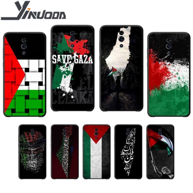 Yndfcnb palestina silicone caso capa de telefone para oppo a5 a9 2020 a7x reno 2 ace 3 pro realme 3 5 pro funda