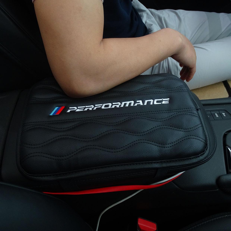 Car Handrest Armrest Box Mats Cover Hand Pillow Pad For BMW E46 E52 E53 E60 E90 E91 F30 F20 F10 F15 F13 M3 M5 M6 X1 X3 X5 X6 Z4