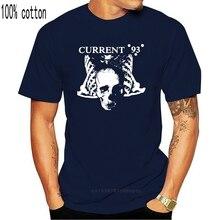 Top Herdruk Huidige 93 Shirt 1988 Vintage T-shirt Neofolk Band T-shirts