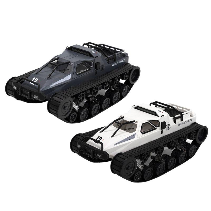 1/12 RC 4WD Drift Tank 2,4G alta velocidad EV2 tanque RTR Control remoto de juguete blindado AXYA