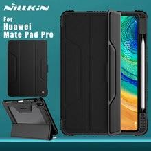 Funda Nillkin para Huawei Mate Pad Pro, funda trasera de cuero con tapa de parachoques