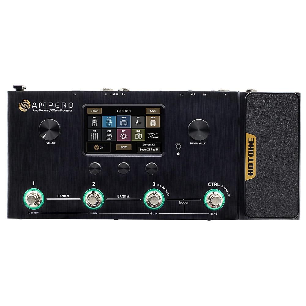 Hotone Ampero Amp Modeler & Multi Effects Processor MP-100