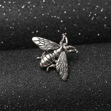 DoreenBeads 2 sztuk kreatywny Retro mały pszczoły odznaki mody Pin broszka dla T Shirt garnitur kołnierz płaszcz kapelusz buty modne akcesoria