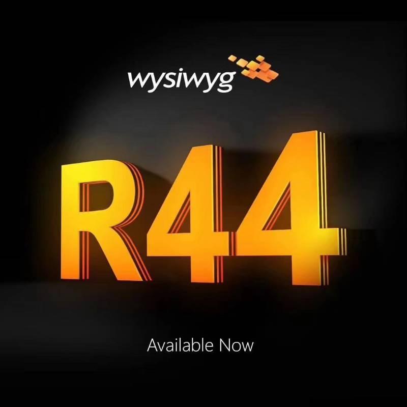 Wysiwyg R44 Update2 Освещение Интерфейс Программное обеспечение Дискотека DJ DMX свет +Перформанс ключ Сцена Свет Эффект
